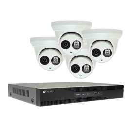 A Series 4 Channel Nvr W 4 Turrets 2mp